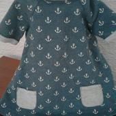 Крутое платье свитшот от f&f в якоря