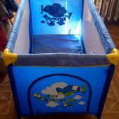 Манеж-кровать lorelli nanny plus