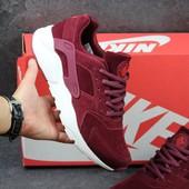 Кроссовки мужские Nike Huarache Burgundy