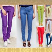 Новинка 2017! Классическая летняя модель джинсов - скини стрейч. 7 цветов. 42-50р.