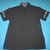 Рубашка мужская с вышивкой на рукавчиках, в отличном состоянии, Размер S, Уп 13грн