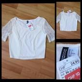 Фирменная блузка H&M, размер 34\4