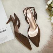 (37р./24,5см) M&S! Милые стильные туфли-лодочки, босоножки