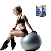 Мяч для фитнеса Strauss 65 см