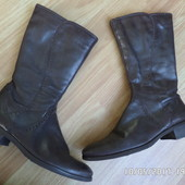 ECCO шкіряні чоботи 39р 25-25.5см