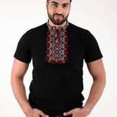 Чоловічі футболки-вишиванки, р.л-хххл. В наявності. Нові, залишок від СП