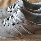 Кожаные туфли фирмы Ecco р.42-27.5см