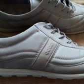 Кожаные туфли фирмы Ecco р.42-26.5см