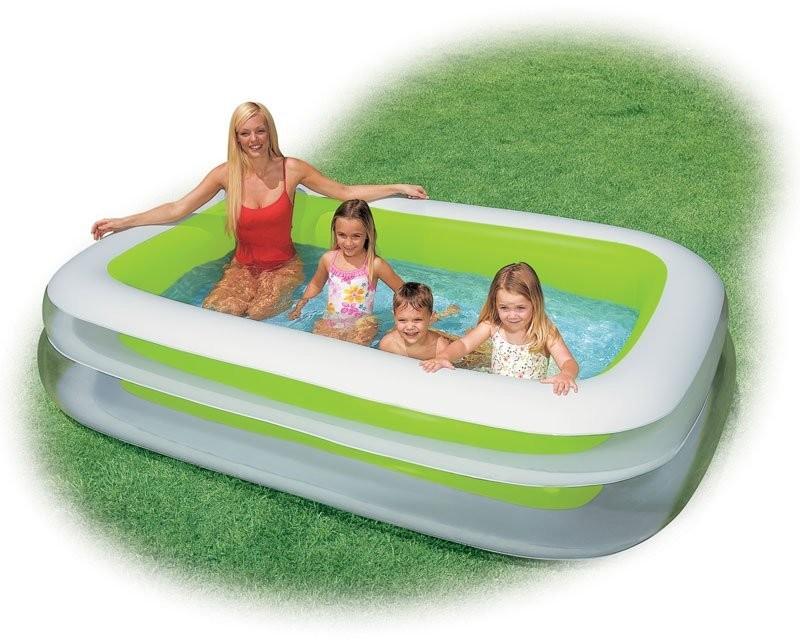Акция! Бассейн 56483 детский надувной Intex Интекс прямоугольный, басейн дитячий фото №1