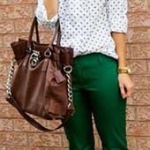 Яркие брюки C&A 40-42 р