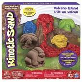 Kinetic Sand Кинетический песок Вулканический остров volcano island set
