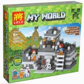 """Конструктор Minecraft Lele 33007 """"Неприступная Крепость 2"""" 268 деталей"""