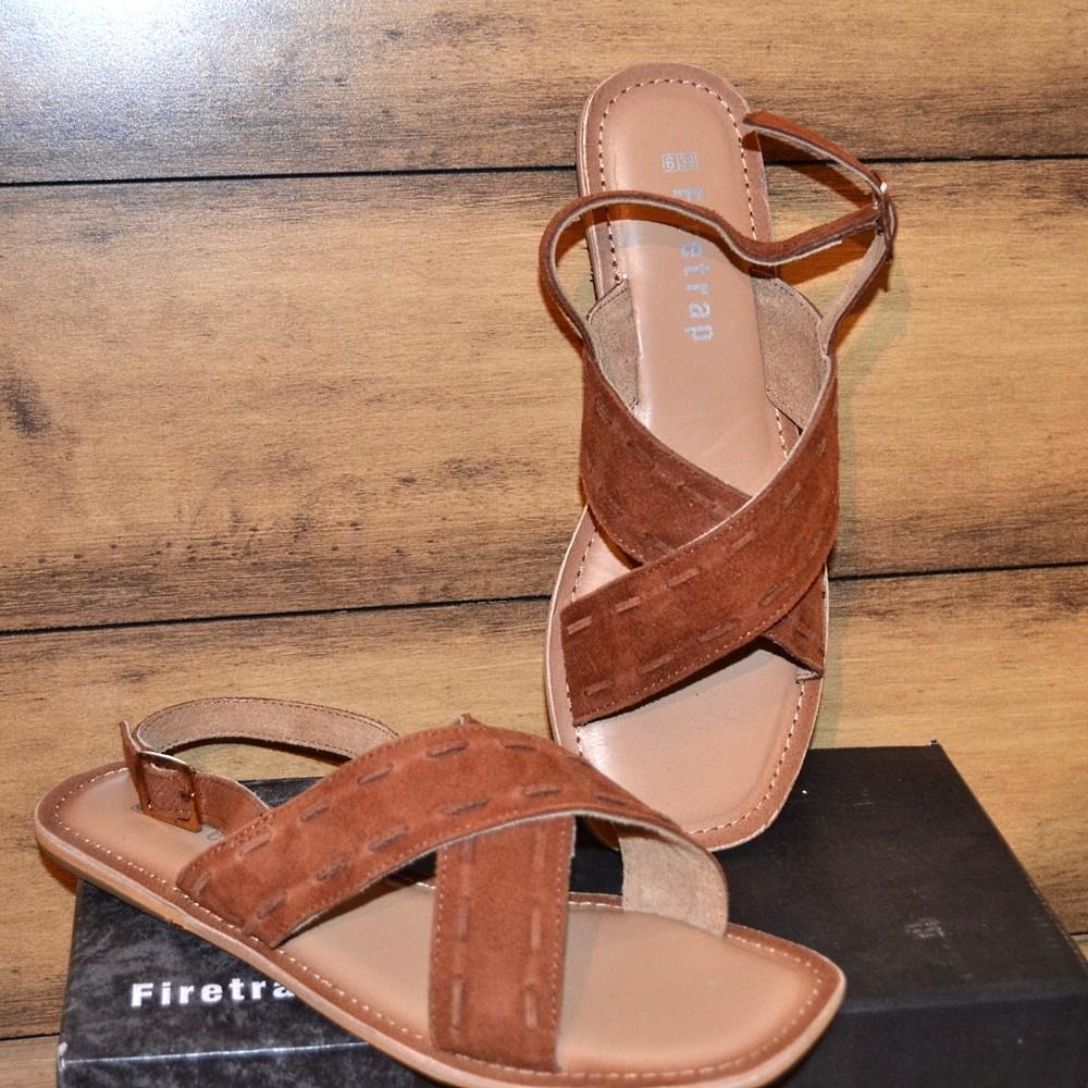 Полностью кожаные сандалии firetrap 37-38р. англия фото №1
