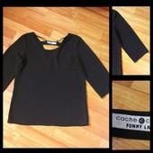 Фирменная шифоновая блузка Cache Cache, , размер М