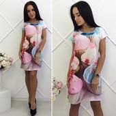 Яркие летние платья много цветов