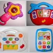 Все по 60 Фирменные развивающие игрушки WinFun VTech панель планшет ферма пианино погремушка