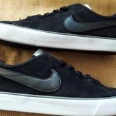 Замшевые кеды Nike оригинал р.40-24.5см.