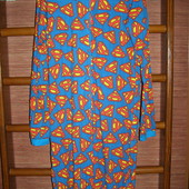 Пижама флисовая, мужская, размер L, рост до 185 см