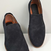 Туфли в коже и замше (черные,коричневые,синие)