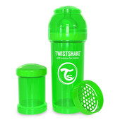 Бутылочка антиколиковая 260 мл. Twistshake 78010 Швеция зеленый 12124855