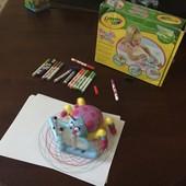 Паучок, спирограф Crayola с набором маркеров.