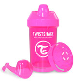 Чашка-непроливайка 300 мл. Twistshake 78058 Швеция розовый 12124891