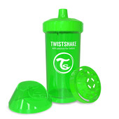 Детская чашка-непроливайка 360 мл. Twistshake 78071 Швеция зеленый 12124904