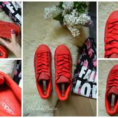 Замшевые кроссовки Adidas SuperStar  оригинал р-р 40