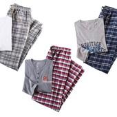 хлопковая мужская пижама.Livergy/Германия.60-62