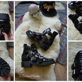Брутальные открытые ботинки TopShop р-р 40-41