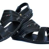 42 р Мужские современные сандалии - шлепанцы (БС-13ч)