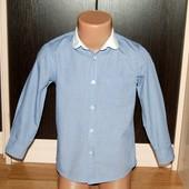 George (4-5 лет) стильная рубашка для мальчика