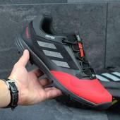Кроссовки мужские Adidas terrex black red