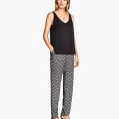 Тканевые брюки Н&M, М летние штаны