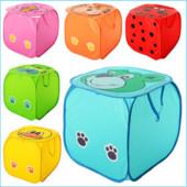 Корзина для игрушек животное, размер 45 см, высота 45 ,  6  цветов