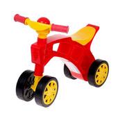 Роллоцикл 4 колеса красно-черный Технок 2759 беговел пластиковый