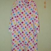 Флисовый слип, пижама, домашний костюм, размер XXL.