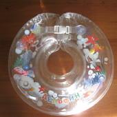 Круг Delfin EuroStandard, прозрачный.