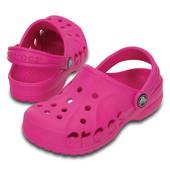Летние Crocs для девочки