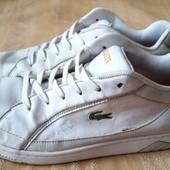 Кожаные кроссовки оригинал Lacoste р.46-28.5см.