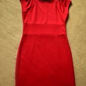 красное платье трикотаж Ostin M