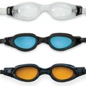 Очки для плавания от 14лет и взрослым. арт 55692 Полупрофессиональные
