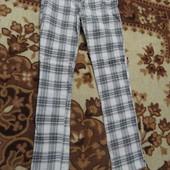 Школьные брюки штаны на девочку 7 лет