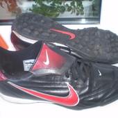бутсы копочки сороконожки футзалки Nike Кожа р.44, 27.5 см