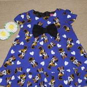 Яркое платье для девочки от George