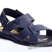 Кожаные сандалии, босоножки, шлепанцы Timberland T - 2 синие, черные, оливковые