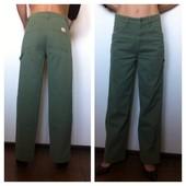 Цветные джинсы (хаки) на высокой талии р.28 Diesel