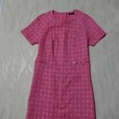 Симпатичное розовое платье Marks&Spencer,р. 14
