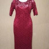 Платье гипюровое Jolie Moi, разм. uk 12-14, eur 40-42
