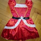 Платье на Новый Год или карнавал 3-5 лет хор сост